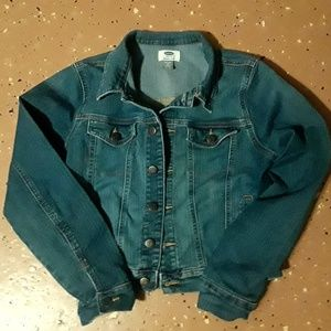 OLD NAVY girls jean jacket